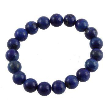 köves ásványi ékszer lapis lazuli elasztikus karkötő
