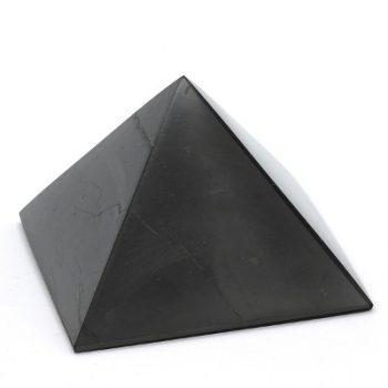 Köves ásványi ékszer sungit ásványi piramis ezoterikus fekete