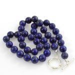Lapis lazuli golyók nyaklánc