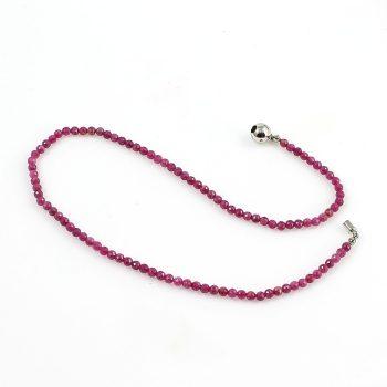 Köves ásványi ékszer Minőségi rubin köves nyaklánc