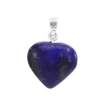 Köves ásványi ékszer lapis lazuli nagy szív medál