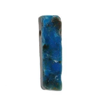 Köves ásványi ékszer perui opál medál, tégla