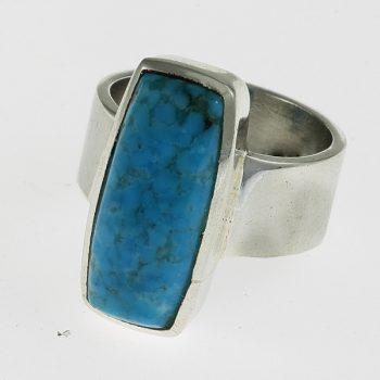 Türkiz tégla gyűrű