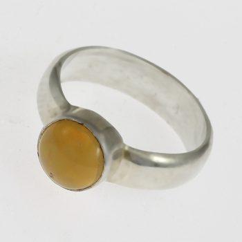 Kerek opálos gyűrű