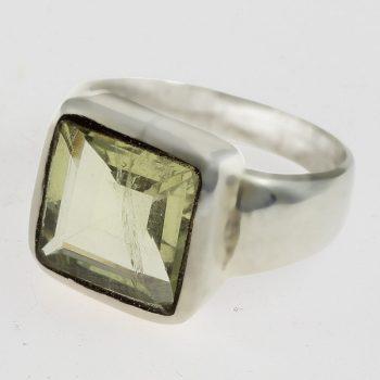 Citromkvarc gyűrű