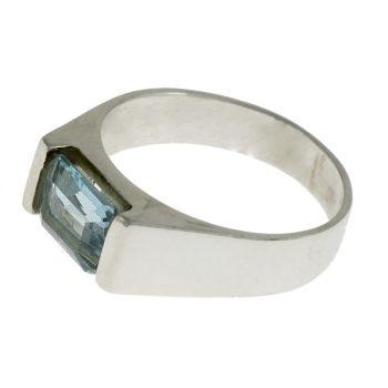Topáz tégla gyűrű